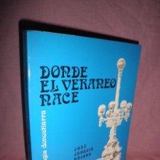 Libros de segunda mano: DONDE EL VERANEO NACE · TRILOGIA DONOSTIARRA - J.J.ARJONA - FOTOGRAFIAS DE EPOCA.. Lote 33986069