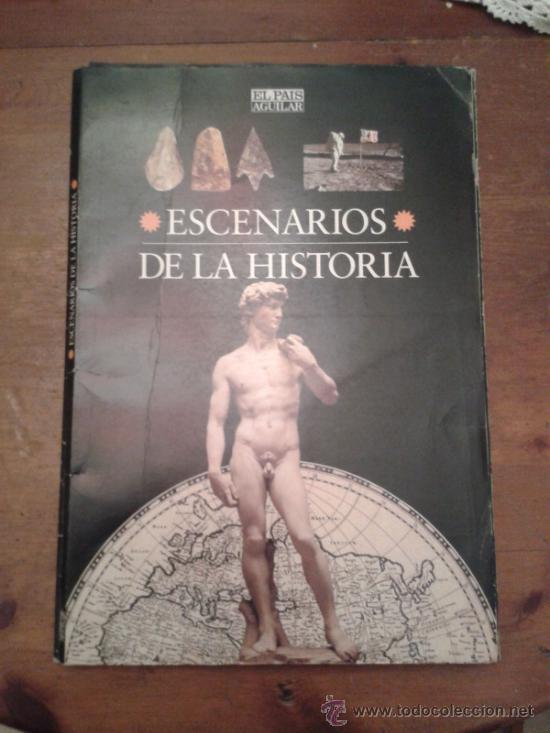 ESCENARIOS DE LA HISTORIA 1995 - EL PAIS -1ª EDICION. COMPLETO (Libros de Segunda Mano - Historia - Otros)