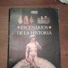 Libros de segunda mano: ESCENARIOS DE LA HISTORIA 1995 - EL PAIS -1ª EDICION. COMPLETO. Lote 34018144