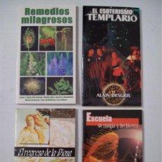 Libros de segunda mano: LOTE DE LIBROS COLECCIÓN AÑO CERO. Lote 34056582