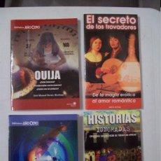 Libros de segunda mano: LOTE DE LIBROS COLECCIÓN AÑO CERO. Lote 34056709