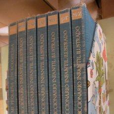 Libros de segunda mano: ANTIGUA ENCICLOPEDIA DICCIONARIO INFANTIL ILUSTRADO. Lote 34110376