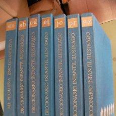 Libros de segunda mano: ANTIGUO DICCIONARIO ENCICLOPEDIA INFANTIL ILUSTRADO . Lote 34125910