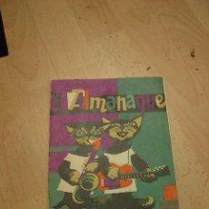 Libros de segunda mano: ALMANAQUE, AGROMAN, 1965. Lote 34149408