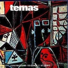 Libros de segunda mano: TEMAS. CONSTRUCCIONES COLOMINA Y SU GRUPO. VOL. XV, 1973. . Lote 34242535