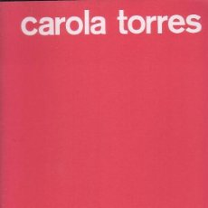 Libros de segunda mano: PREMIO NACIONAL DE ARTES PLÁSTICAS 1980 / CAROLA TORRES. Lote 34246196