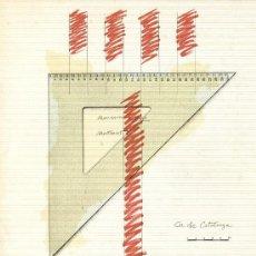 Libros de segunda mano: SUBIRACHS / EXPOSICIÓN MANRESA 1977. ESCULTURA DIBUJOS OBRA GRÁFICA TEXTO GIRALT-MIRACLE * MUY RARO. Lote 34255959