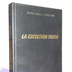 Libros de segunda mano: LA ESCULTURA VASCA.. Lote 34087238