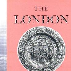 Libros de segunda mano: THE LONDON MUSEUM, HER MAJESTY´S STATIONERY OFFICE 1960, 32PÁGS, 14X21CM, ILUSTRADO. Lote 34339258
