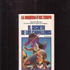 Livres d'occasion: LA MAQUINA DEL TIEMPO Nº 1 -EDITA : TIMUN MAS ( LIBRO JUEGO ). Lote 34369803
