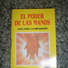 Libros de segunda mano: EL PODER DE LAS MANOS (MINI LIBRO) - POR JOSÉ RIVAS - PANAPO - VENEZUELA - 1997 - RARO!!!. Lote 34372969