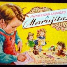 Libros de segunda mano: PRIMERAS LABORES DE MARUJITA. COLECCION ALTA COSTURA PARA CHIQUITINAS. EDITORIAL MOLINO. 1948. Lote 34382122