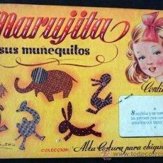 Libros de segunda mano: MARUJITA Y SUS MUÑEQUITOS. ALTA COSTURA PARA CHIQUITINAS. E. MOLINO. 8 MODELOS CON SUS PATRONES. Lote 34382278