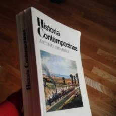 Libros de segunda mano: HISTORIA CONTEMPORÁNEA / ANTONIO FERNÁNDEZ. Lote 34446805
