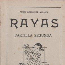 Libros de segunda mano: RAYAS - CARTILLA SEGUNDA. Lote 34444929
