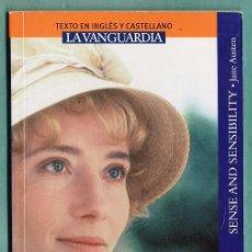 Libros de segunda mano: SENTIDO Y SANSIBILIDAD - JANE AUSTEN - CASTELLANO / INGLES - LA VANGUARDIA - AÑO 2008. Lote 34503013