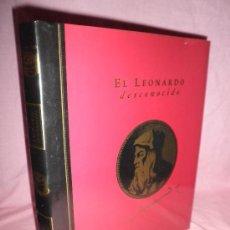 Libros de segunda mano: EL LEONARDO DESCONOCIDO - MONUMENTAL OBRA HISTORICA ILUSTRADA.. Lote 34503620