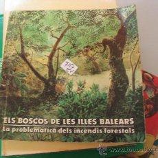 Libros de segunda mano: ELS BOSCOS DE LES ILLES BALEARSSA NOSTRA ILUSTRADO CATALAN2,00 € . Lote 34538588