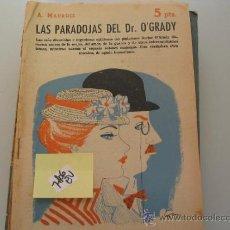 Libros de segunda mano: LAS PARADOJAS DEL DR O´GRADYA MAUROIS1958REVISTA LITERARIA NOVELAS Y CUENTOS5,40 € . Lote 34565751