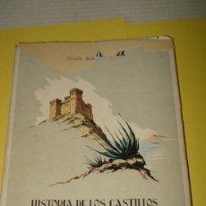 Libros de segunda mano: MATEO BOX, JUAN. HISTORIA DE LOS CASTILLOS DE LA PROVINCIA DE ALICANTE . AÑO 1953. Lote 34567462