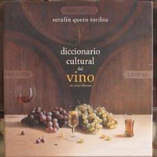 Libros de segunda mano: LIBRO DICCIONARIO CULTURAL DEL VINO - BENEDITO EDITORES MALAGA - PERFECTO ESTADO. Lote 92700298