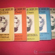 Libros de segunda mano: FREIXAS, EMILIO - LECCIONES DE DIBUJO ARTÍSTICO. Lote 34612142