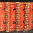 Libros de segunda mano: LA VIDA DE LOS ANIMALES. 1ª EDICION AÑOS 1880-1881. ENCUADERNACION DE LUJO. Lote 34742329