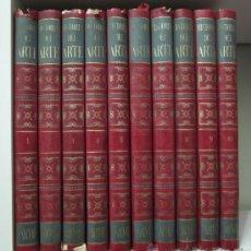 Libros de segunda mano: HISTORIA DEL ARTE. J. PIJOAN Y DIVERSOS COLABORADORES. SALVAT EDITORES. 10 VOLÚMENES. Lote 34677773