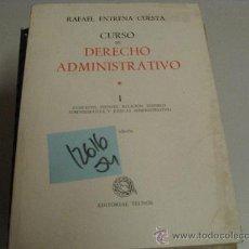 Libros de segunda mano: CURSO DE DERECHO ADMINISTRATIVO 1RAFAEL ENTRENA CUESTA19802 €. Lote 36413809