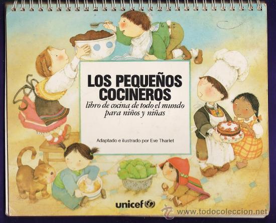 Los peque os cocineros cocina de todo el mund comprar for Libro cocina para ninos
