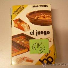 Libros de segunda mano: EL JUEGOALAN WYKES2,00 € . Lote 34904208