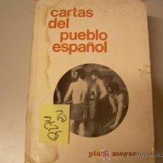Libros de segunda mano: CARTAS DEL PUEBLO ESPAÑOLAFRODISIO AGUADO1967POLITICA2,00 € . Lote 34954354