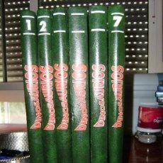 Libros de segunda mano: 6 TOMOS DE DINOSAURIOS(DESCUBRE LOS GIGANTES DEL MUNDO PREHISTÓRICO). Lote 34926927