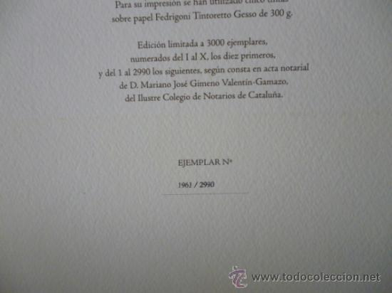 Libros de segunda mano: ENSAYOS DE MICHEL DE MONTAIGNE CON LAMINAS DE SALVADOR DALI. EDICIÓN LIMITADA - Foto 17 - 34467319