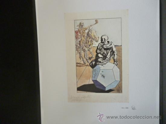 Libros de segunda mano: ENSAYOS DE MICHEL DE MONTAIGNE CON LAMINAS DE SALVADOR DALI. EDICIÓN LIMITADA - Foto 15 - 34467319