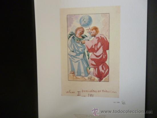 Libros de segunda mano: ENSAYOS DE MICHEL DE MONTAIGNE CON LAMINAS DE SALVADOR DALI. EDICIÓN LIMITADA - Foto 13 - 34467319