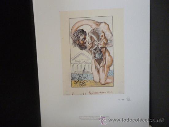 Libros de segunda mano: ENSAYOS DE MICHEL DE MONTAIGNE CON LAMINAS DE SALVADOR DALI. EDICIÓN LIMITADA - Foto 12 - 34467319