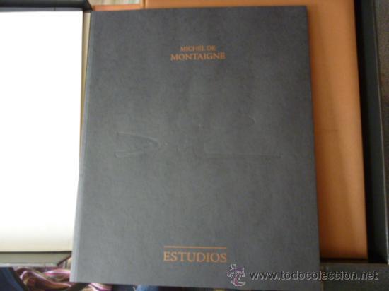Libros de segunda mano: ENSAYOS DE MICHEL DE MONTAIGNE CON LAMINAS DE SALVADOR DALI. EDICIÓN LIMITADA - Foto 11 - 34467319