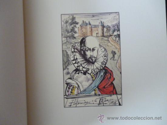 Libros de segunda mano: ENSAYOS DE MICHEL DE MONTAIGNE CON LAMINAS DE SALVADOR DALI. EDICIÓN LIMITADA - Foto 2 - 34467319