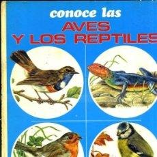 Libros de segunda mano: CONOCE LAS AVES Y LOS REPTILES (FHER, 1973) . Lote 34960894