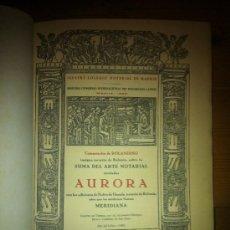 Libros de segunda mano: LIBRO AURORA DE PEDRO DE UNZOLA . Lote 34775045