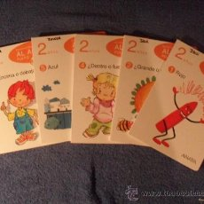 Libros de segunda mano: EDUCACION INFANTIL AL AGUA PULPO - 2 AÑOS - 5 LIBROS (FALTA EL Nº3) - ANAYA 2009. Lote 35013690