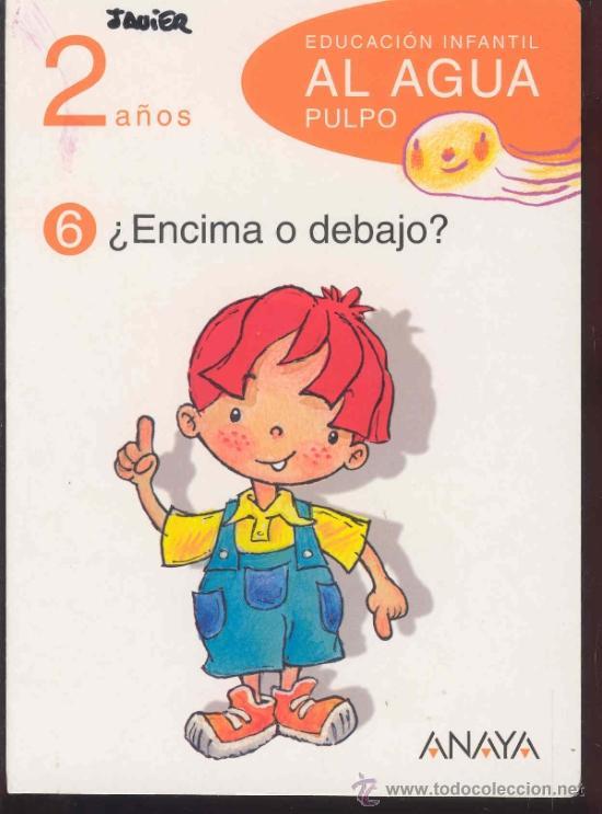 Libros de segunda mano: EDUCACION INFANTIL AL AGUA PULPO - 2 años - 5 LIBROS (falta el nº3) - ANAYA 2009 - Foto 4 - 35013690