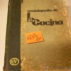 Libros de segunda mano: ENCICLOPEDIA DE LA COCINAL CARNACINA1967COCINA 8,30 . Lote 35141644