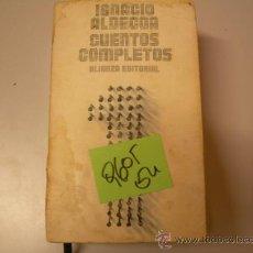 Libros de segunda mano: CUENTOS COMPLETOSIGNACIO ALDECOACUENTO2,00 . Lote 35152344