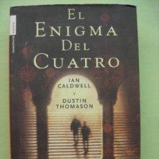 Libros de segunda mano: EL ENIGMA DEL CUATRO. CALDWELL. TAPA DURA. Lote 35168979