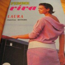 Libros de segunda mano: LAURA FEMME VIVAJEAN-LUC ESTEBE2,00 . Lote 35213860