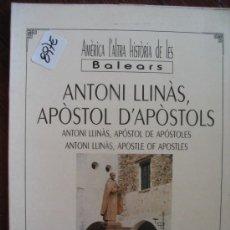 Libros de segunda mano: ANTONI LLINÀS APÒSTOL DAPÒSTOLSANTONI GILI4,10. Lote 35314559