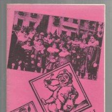 Libros de segunda mano: QUADERNS DIVULGACIO CULTURAL NUM 1 AJUNTAMENT DE REUS 1984 EL CARNAVAL A REUS . Lote 35371053