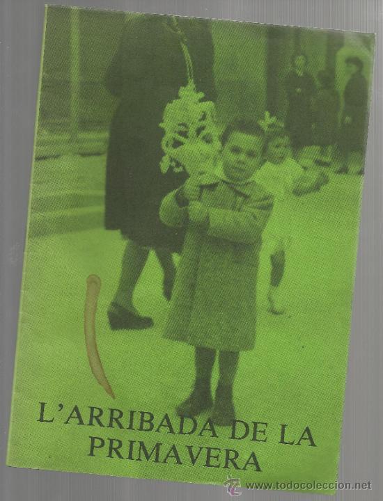 QUADERNS DIVULGACIO CULTURAL NUM 2 AJUNTAMENT DE REUS 1984 L'ARRIBADA DE LA PRIMAVERA CARAMELLES (Libros de Segunda Mano - Ciencias, Manuales y Oficios - Otros)